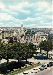 Modern Postcard Limoges (High Vienna) Avenue de la Gare and Gare de Limoges B...