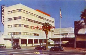 The contemporary architecture of CBS STATION, LOS ANGELES, CA 1952