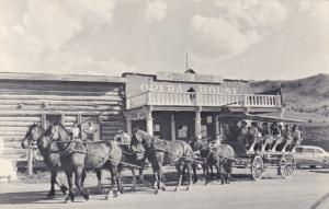 VIRGINIA CITY, Montana, 1940-1960´s; Stage Coach Ride, Opera House