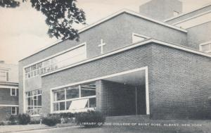 ALBANY , New York , 1930s ; Library of the college of Saint Rose