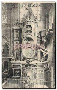 Old Postcard Strasbourg La Cathedrale L & # astronomical 39horloge