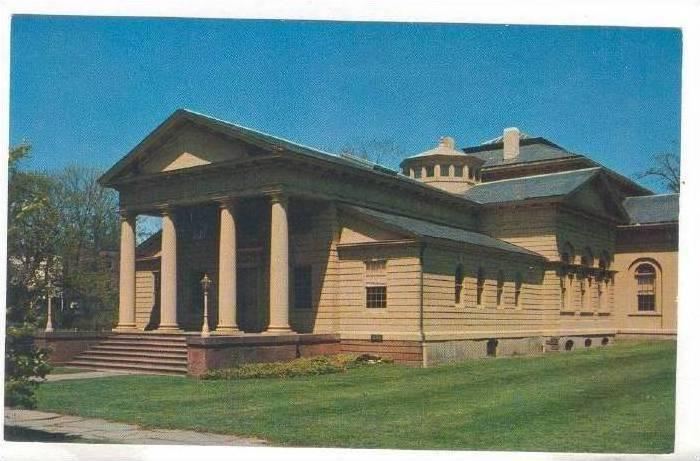 The Redwood Library Built 1750 Newport Rhode Island 1940 1960s