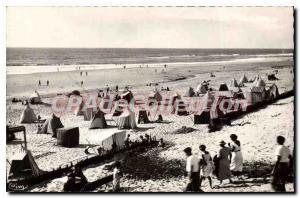 Postcard Old Place Landes Biscarosse Overview Beach