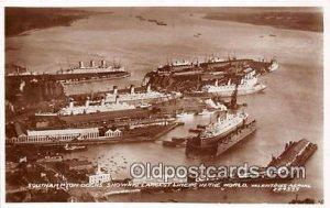 Southampton Docks Largest Liners Ship Unused