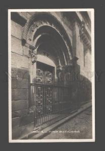 089291 PORTUGAL Braga portada do sol Catedral Old photo PC