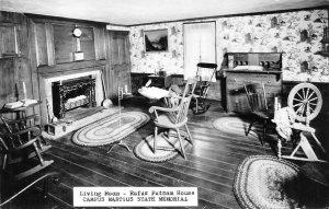 RPPC Rufus Putnam House Campus Martius Memorial Marietta OH Vintage Postcard