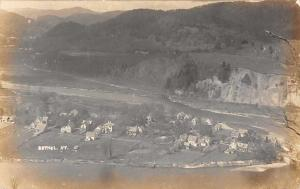 Bethel Vermont Aerial View of Town Real Photo Postcard JA4742192