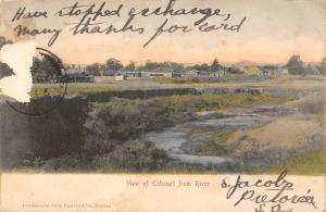 South Africa View of Estcourt from River 1907