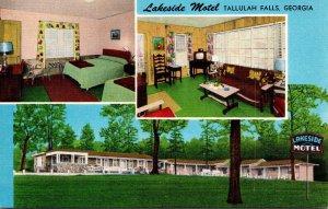 Georgia Tallulah Falls The Lakeside Motel