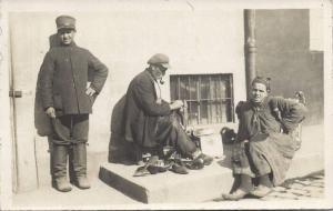 turkey, ISTANBUL, Native Shoemaker (1920s) RPPC
