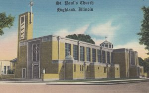 HIGHLAND , Illinois , 1930-40s ; St Paul's Church