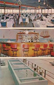 Interior A & B Lobster House Restaurant Key West Florida
