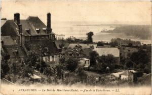 CPA  Avranches - La Baie du Mont Saint-Michel - Vue de la Plate-Forme  (632844)
