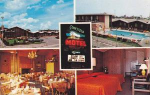 Swimming Pool,  Conestoga Inn,  Kitchener,  Ontario,  Canada,  PU_1985