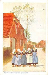 Holland Op weg naar school Zeeland  Op weg naar school Zeeland
