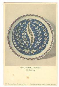 Turkish Plate, XVI Century , 00-10s