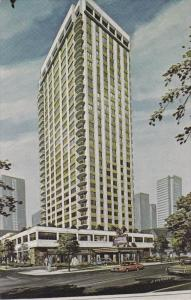 VANCOUVER, British Columbia, Canada, PU-1974; The Century Plaza Hotel