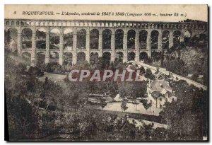 Old Postcard Roquefavour Aqueduct built 1842 1849