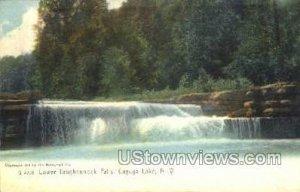 Lower Taughannock Falls in Cayuga Lake, New York