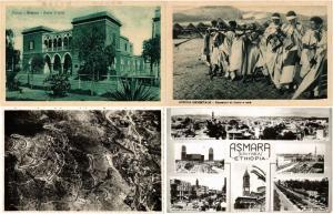 ERITREA 25 AFRICA AFRIQUE CPA  Vintage Postcards Mostly pre-1940