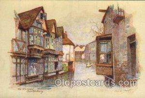 Series No. 2123 - Set 2 Artist Signed A. Vivian Mansell Unused light corner w...