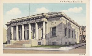 SOMERSET, Kentucky, 1930-40s; U. S. Post Office