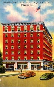 Maryland Salisbury Wicomico Hotel