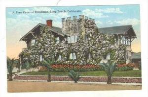 A Rose Covered Residence, Long Beach, California, 1900-10s