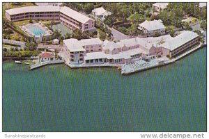 Bermuda Paget Aerial View Inverurie Hotel 1956