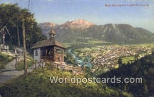 Bad Reichenhall Bildstockl Germany 1915 Missing Stamp