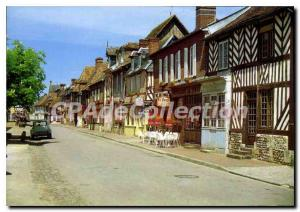 Postcard Modern Beuvron-en-Auge Normandy Picturesque