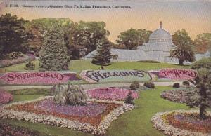 California San Francisco The Conservatory Golden Gate Park