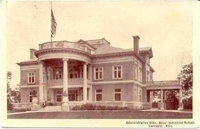 Administration Building, Boys' Industrial School, Lancaster, Ohio, PU-1907