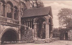 England Canterbury Norman Porch