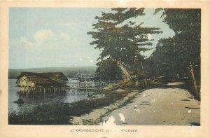 New Guinea Halmaheira Boeroe  postcard
