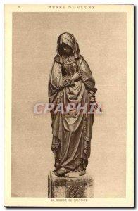 Old Postcard Paris Musee Cluny Virgin at Calvary