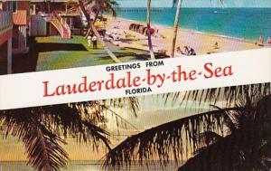 Florida Greetings From Lauderdale By The Sea