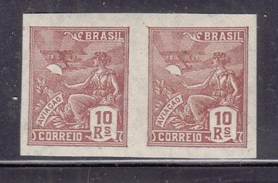 Brazil  #326 MNH Imperforate Pair