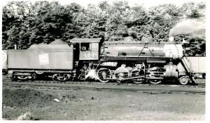 VT - Brattleboro, Sept. 9, 1948. Central VT Rwy #464 *RPPC (Photo, not a post...
