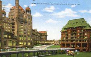NJ - Atlantic City. Hotels Marlborough-Blenheim