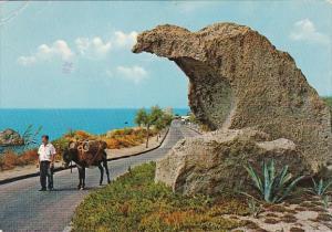 Italy Forio D'Ischia La Roccia dell'aquila 1976