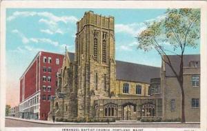 Maine Portland Immanuel Baptist Church
