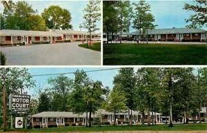 NC, Charlotte, North Carolina, Charlotte Motor Lodge, Dexter Press 73708-B