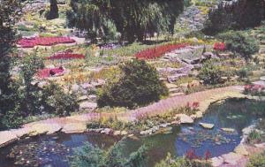 Canada Ontario Hamilton The Rock Garden In Midsummer Royal Botanical Gardens