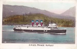 RP, Steamer/Oceanliner, C.N.S.S. Prince Rupert, Canada, 1920-1940s