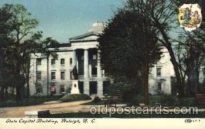 Raleigh, NC, North Carolina, USA State Capitol, Capitols Postcard Post Card  ...