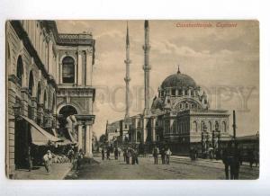 233014 TURKEY CONSTANTINOPLE Tophane mosque Vintage postcard