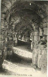 CPA AK TUNISIE EL-DJEM - Les Voutes du Colisée (175180)