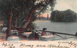 Scene in Bad Nauheim, Germany, Early Postcard, Used in 1904