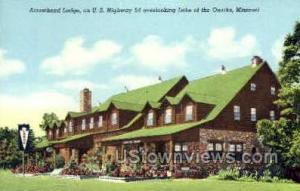 Arrowhead Lodge Lake of the Ozarks MO Unused